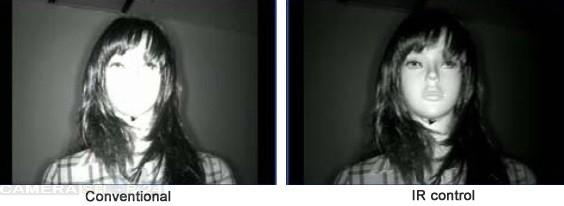 Infrarood ip camera voor camerasysteem afbeelding