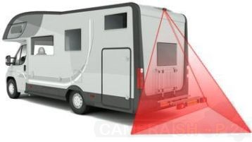 Camperset auto camera set plus monitor foto