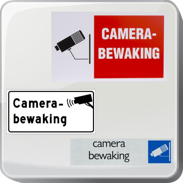 Bordjes camerabewaking