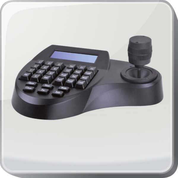 PTZ camera controllers