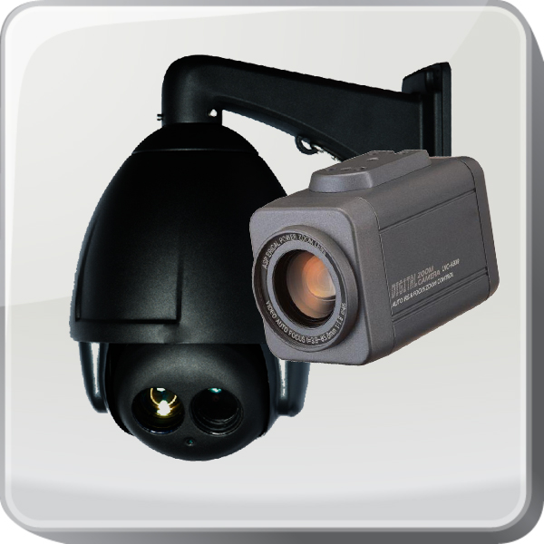 Speed dome / zoom camera