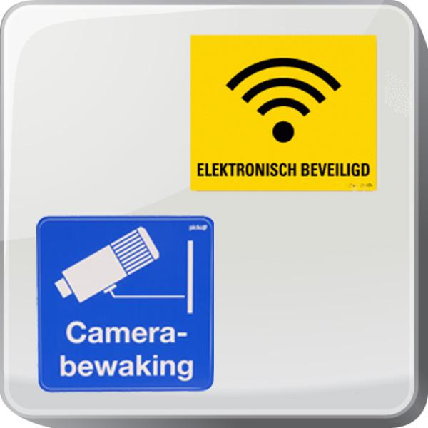 Stickers camerabewaking