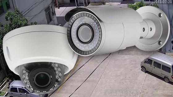 Verschil dome en bullet camera
