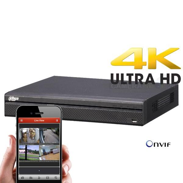 Foto 8 kanaals Ultra HD 4K hardisk recorder