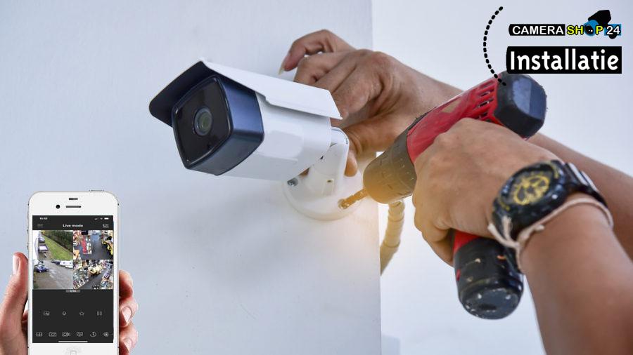 bewakingscamera installatie camerashop24