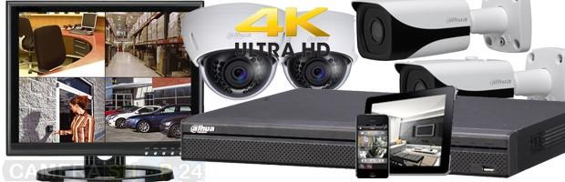 Photo beveiliging buiten en nacht camera set UHD
