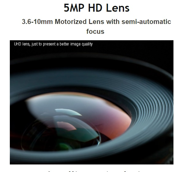5 megapixel cctv bewakingscamera