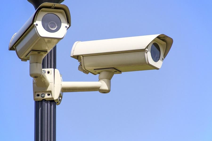 Aantal geregistreerde beveiligingscamera's
