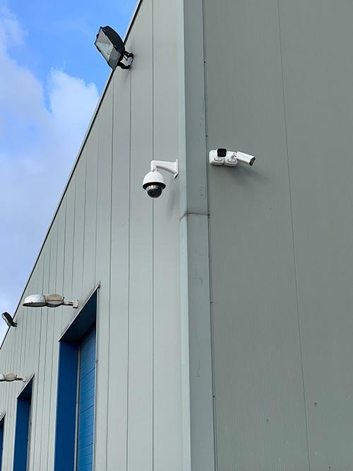 Installatie camerasysteem