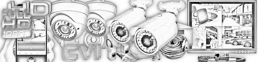 HD-CVI camera sets met 4 camera's en tribryde HD-CVI recorders
