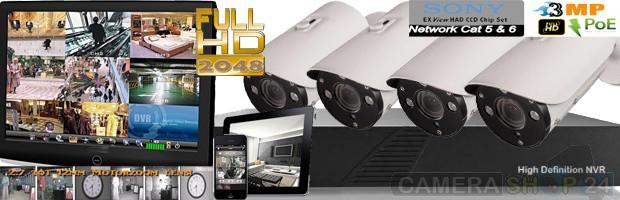 Plaatje ip camera en recorder anti-inbraak voor industrie en overheid