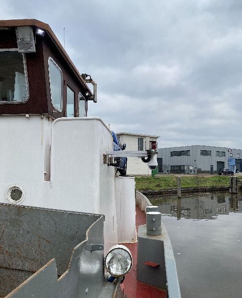 Speeddome camera schip