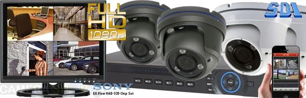 Afbeelding camerasysteem complete set 4 kanaals harddisk recorder