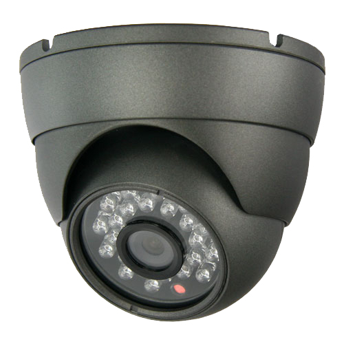 Infrarood dome camera 600 TVL nachtkijker camerabewaking