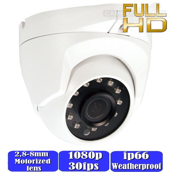 CCTV motorzoom dome camerasysteem