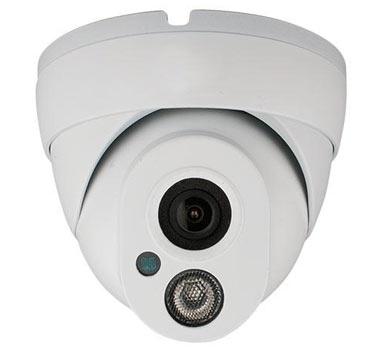 Afbeelding kleur wit dome camerasysteem