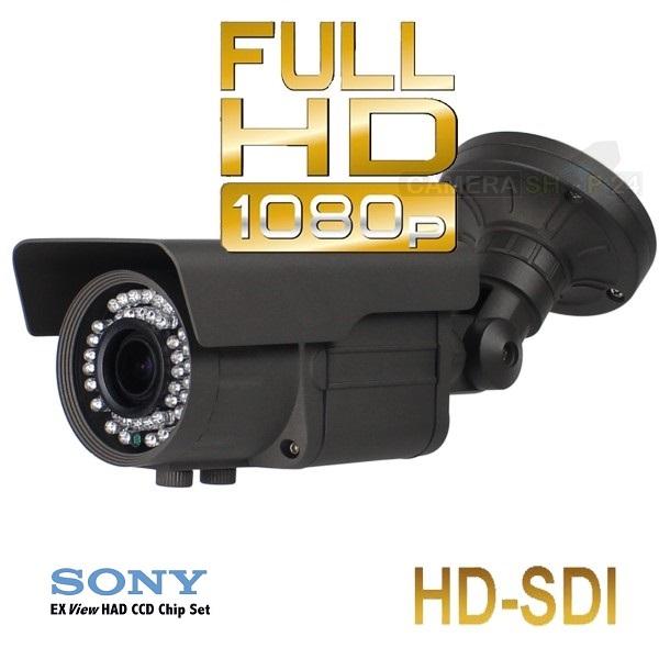Kleur zwart HDSDI bullit camerasysteem afbeelding