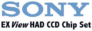 Sony ccd camera sensor chip set logo