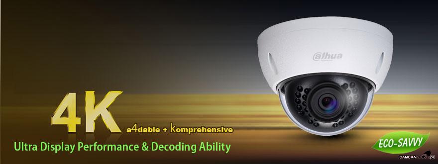 UHD 4k infrarood ip dome camera ptz photo