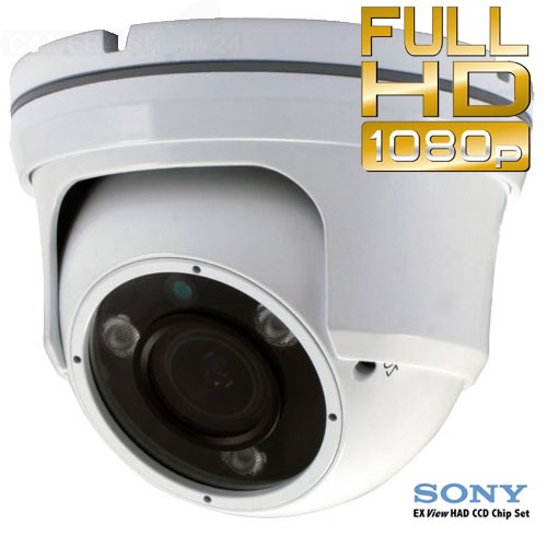 Dome camera set cctv infrarood sdi
