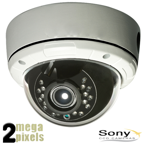 Full HD IP camera - sony CCD - 2,8-12mm lens - PoE - 2mpv3