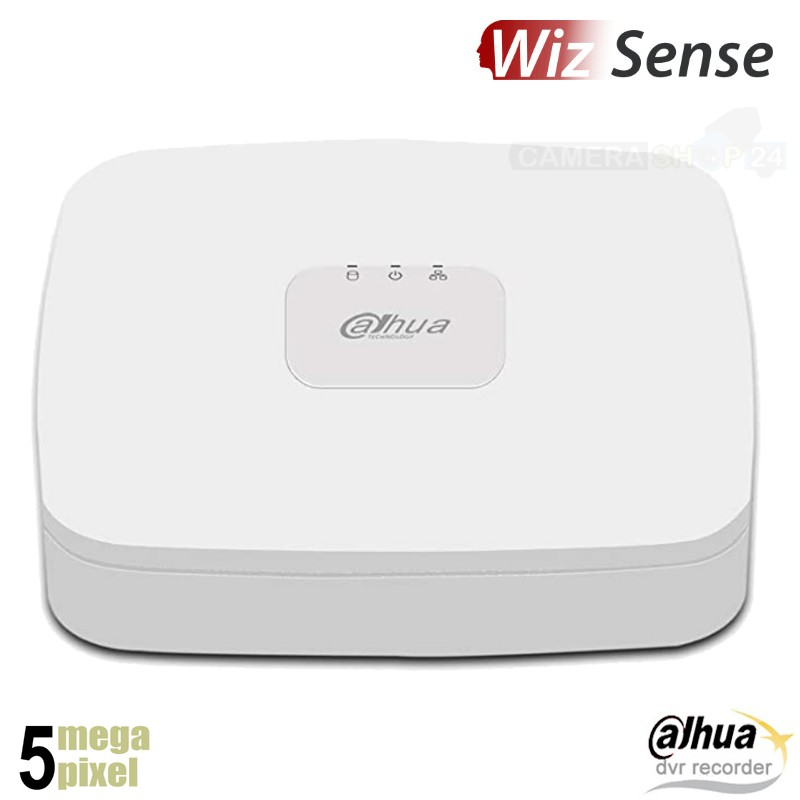 Dahua 5 megapixel WizSense XVR recorder voor 4 camera's - HDXVR43Q