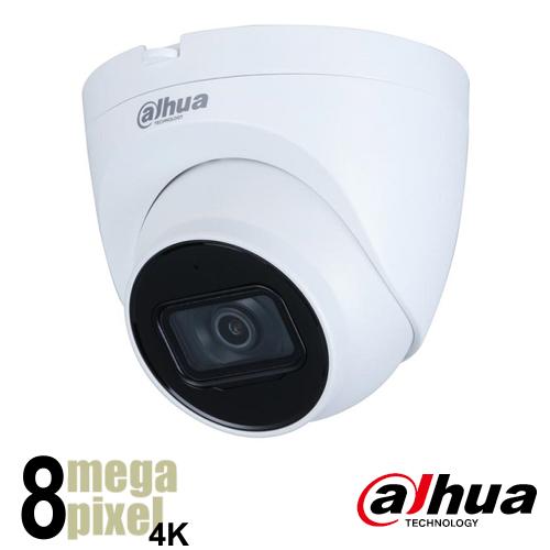 Dahua 4K IP camera - 2.8mm lens - starlight - SD-kaart slot - b2007