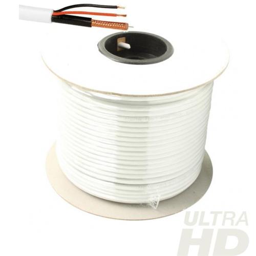 100 meter coax / 12V kabel analoog/cvi/tvi/ahd - cck34