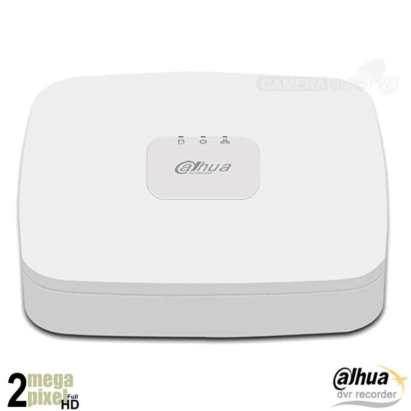Dahua Full HD 5in1 XVR - 8 kanaals + 2 IP kanalen XVR4108Q