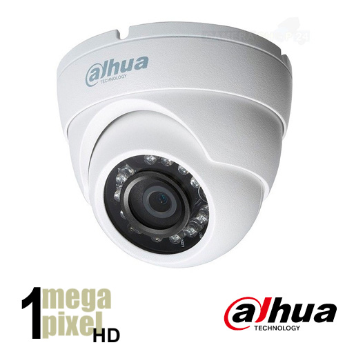 Dahua HD CVI dome camera - 30m nachtzicht - 3.6mm lens - hdcvd68