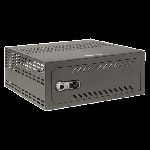 Recorder kluis 1U elektronisch slot - rkl4