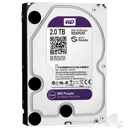 2000gb Western Digital Purple harde schijf