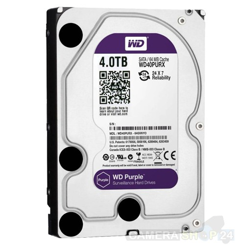 4000gb Western Digital Purple harde schijf