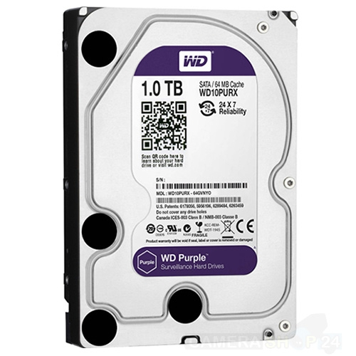 1000gb Western Digital Purple harde schijf
