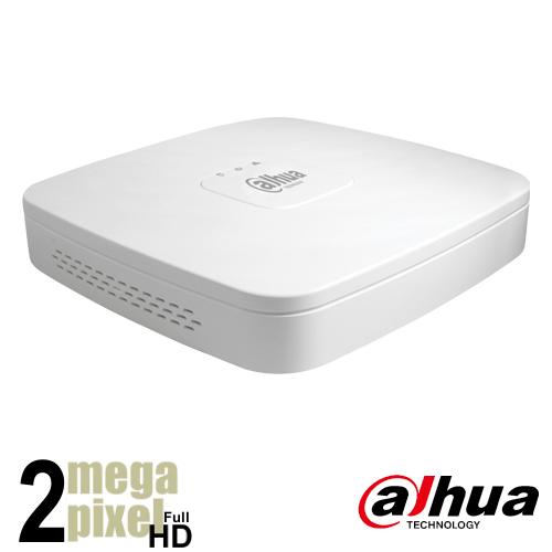 Dahua Full HD XVR recorder voor 4 camera's - xvr4104q
